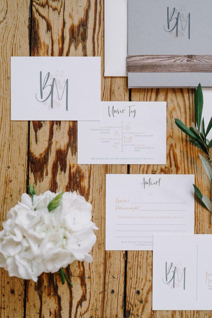 Hochzeitseinladung-Glanzmomente