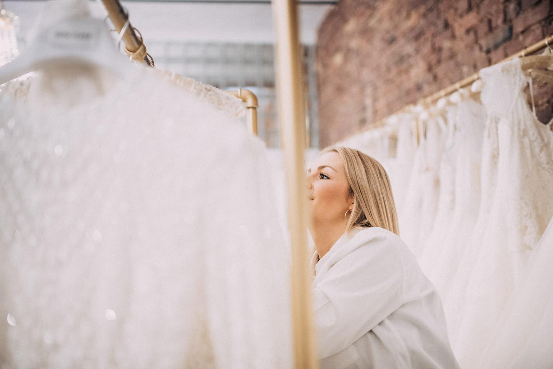 Brautkleid-Glanzmomente