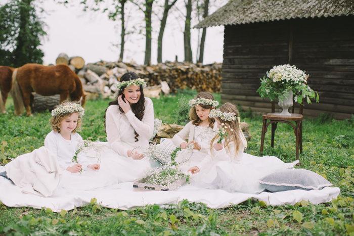 Kinder auf Hochzeiten Glanzmomente