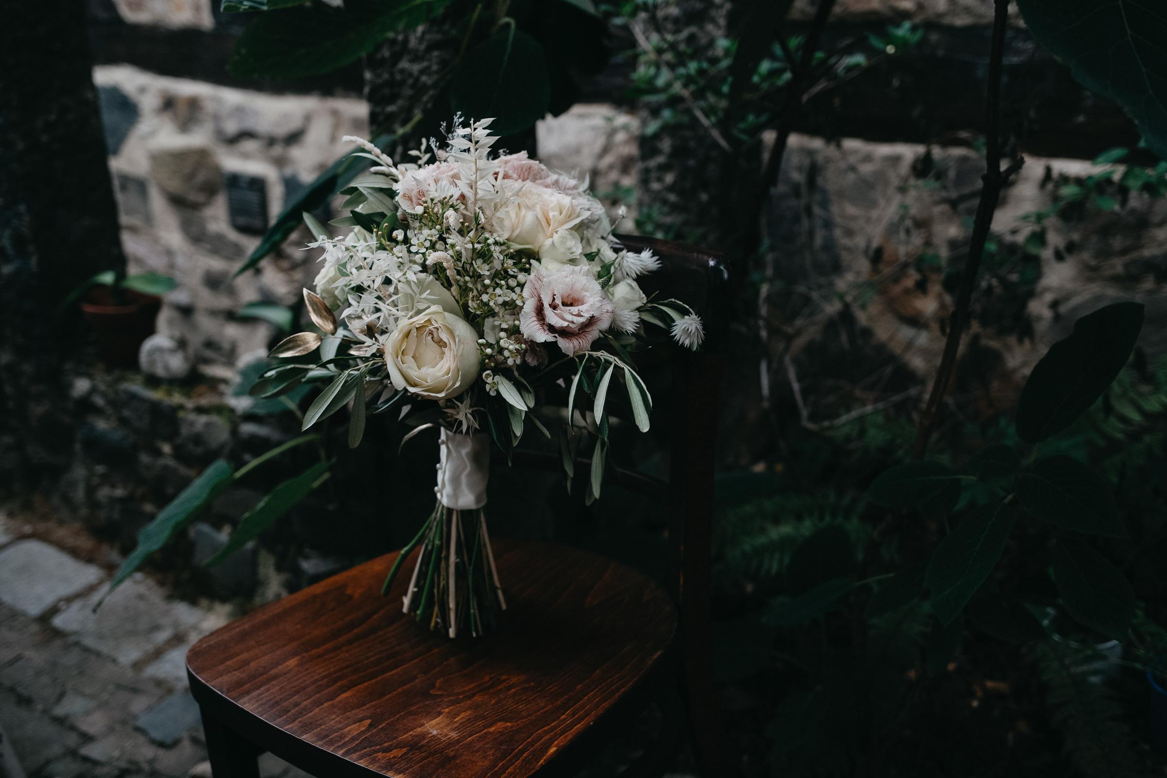 Brautstrauß Zelthochzeit